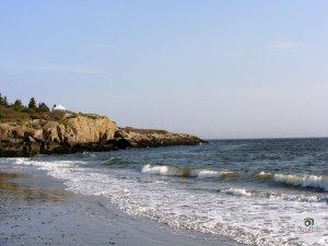 Maine Coastline near Casco Bay