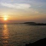 Maine Sunset near Casco Bay