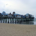 Old Orchard Beach Pier from the Beach