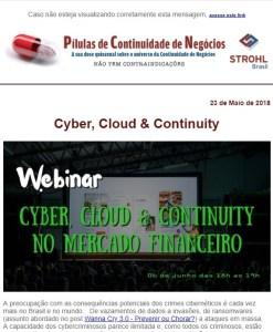 Cyber, Cloud & Continuity no Mercado Financeiro