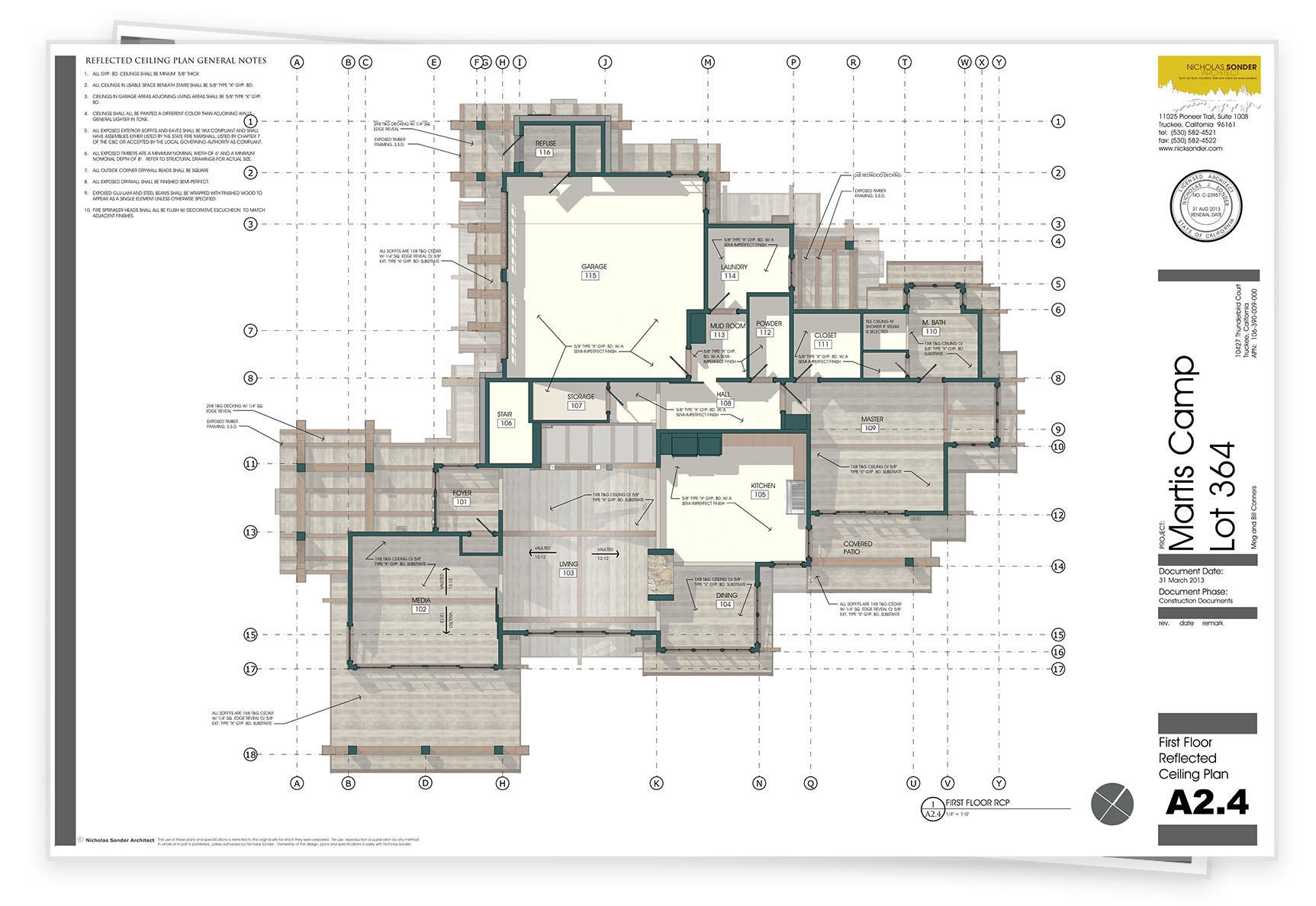 hight resolution of electrical plan sample