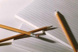 Carta e penna / matita