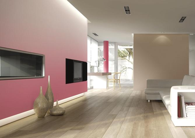 покраска стен в квартире в два цвета дизайн фото 1