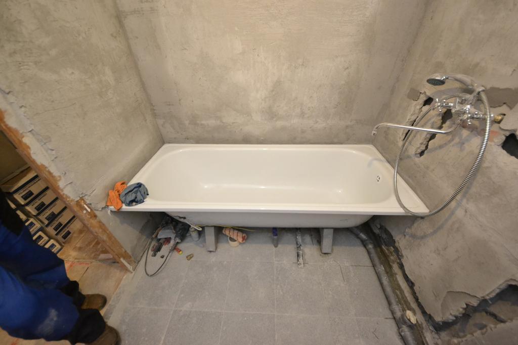 ремонт ванны в хабаровске