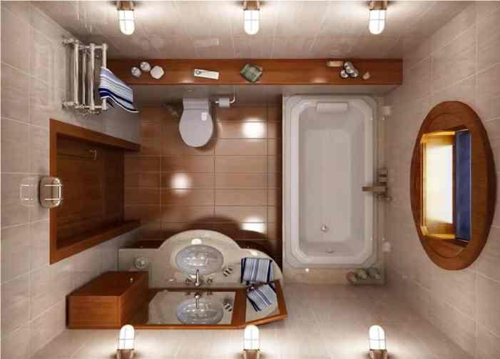 выбор цвета и стиля ванной комнаты