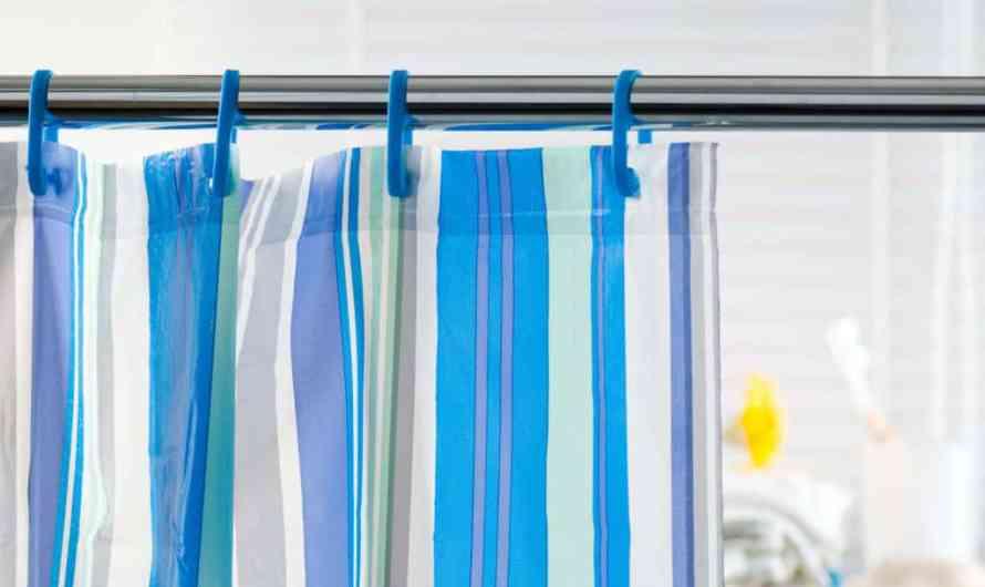 Самостоятельная очистка шторки для ванной