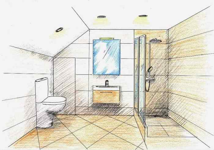 Ремонт ванной комнаты проект