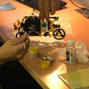 STROKEカーゴトライク(3輪カーゴバイク)ミニチュアモデル製作01