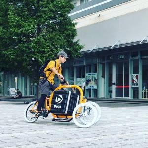 映画『Bikes vs Cars 車社会から自転車社会へ』の上映会にSTROKE展示&試乗会2