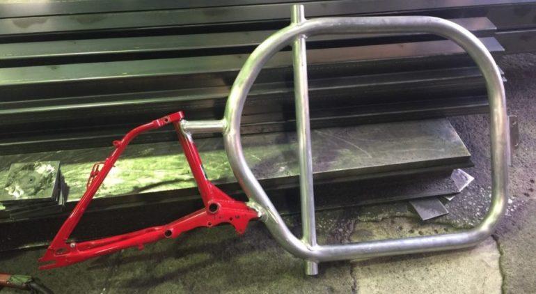 STROKEカーゴトライク(3輪カーゴバイク)試作3号機製作日記 部品完成3