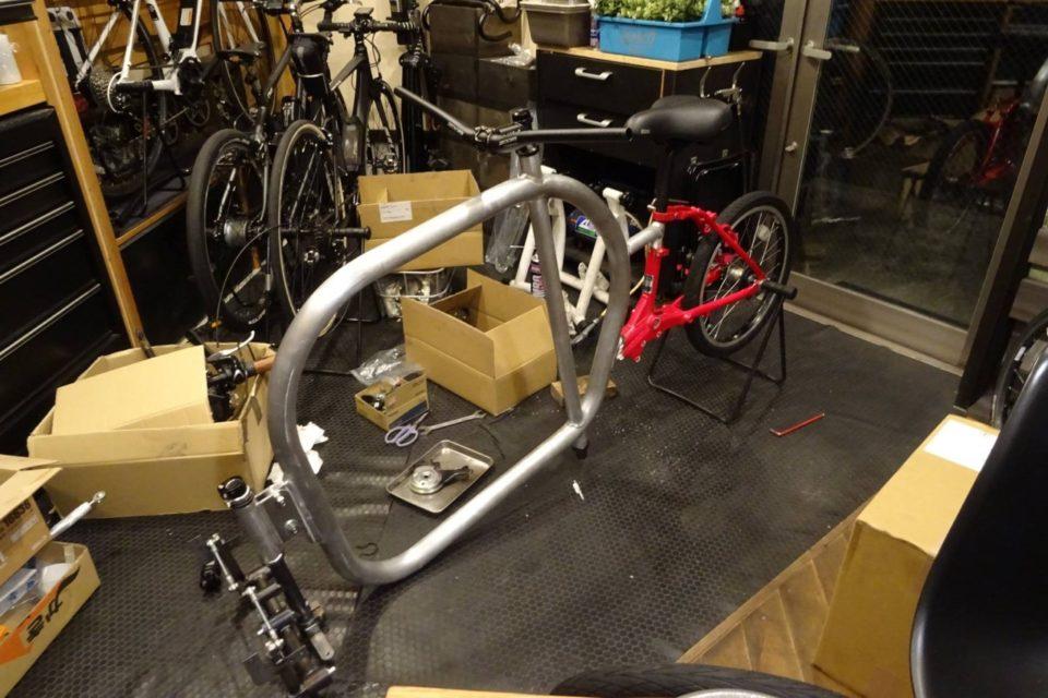 STROKEカーゴトライク(3輪カーゴバイク)試作3号機製作日記 部品完成4