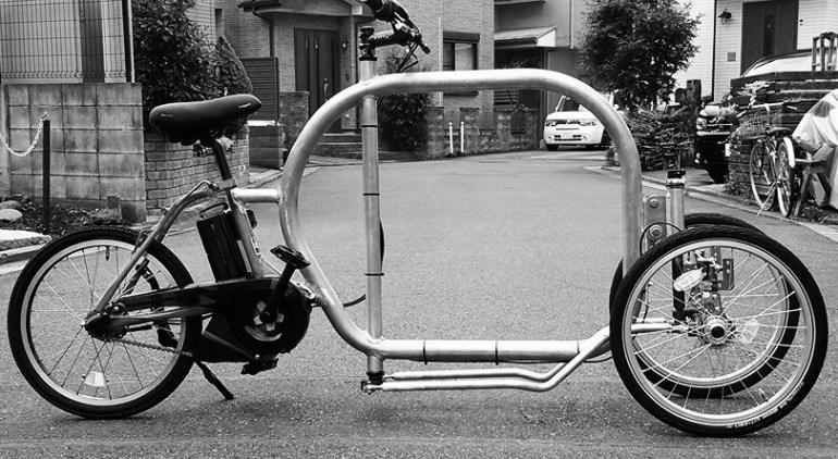 STROKEカーゴトライク(3輪カーゴバイク)試作3号機製作日記 仮組み5