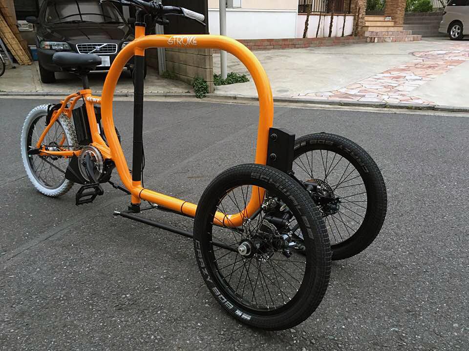STROKE Cargo Trike試作3.5号機完成01