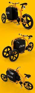 STROKEカーゴトライク(カーゴバイク)試作4号イメージ