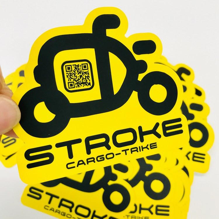 STROKEのステッカーも作りました