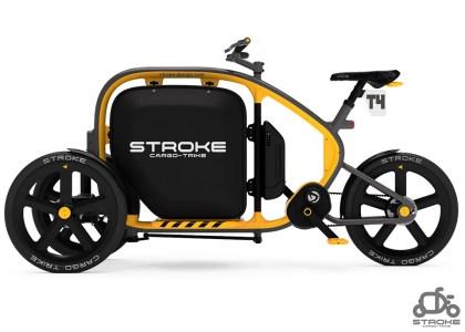 三輪カーゴバイクSTROKE_T4_combicolor