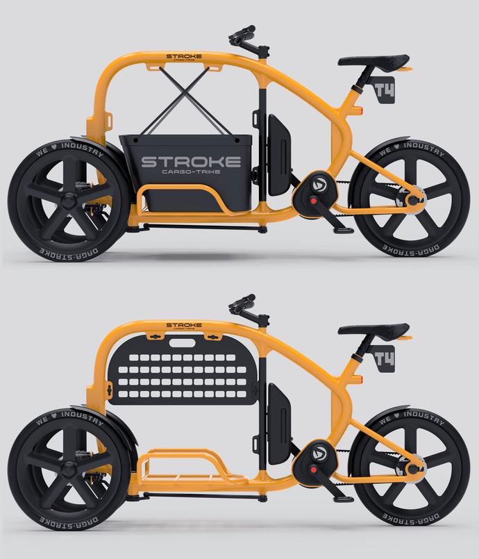 STROKEカーゴトライク(カーゴバイク)試作4号機バリエーション