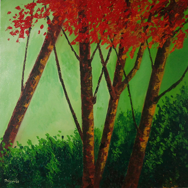 Red & Green Foliage