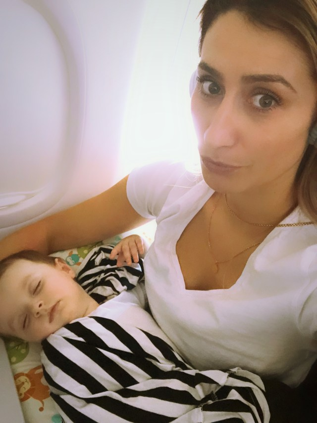 Nursing Pillows and Airplanes