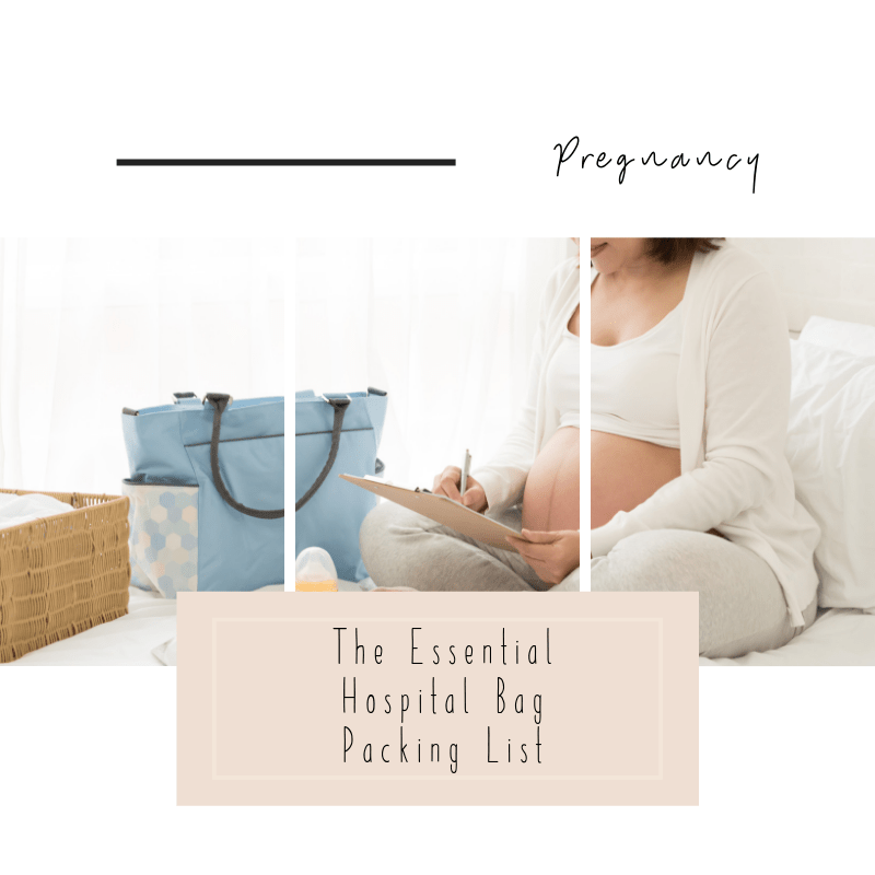 Pregnancy hospital packing list downloadable and free