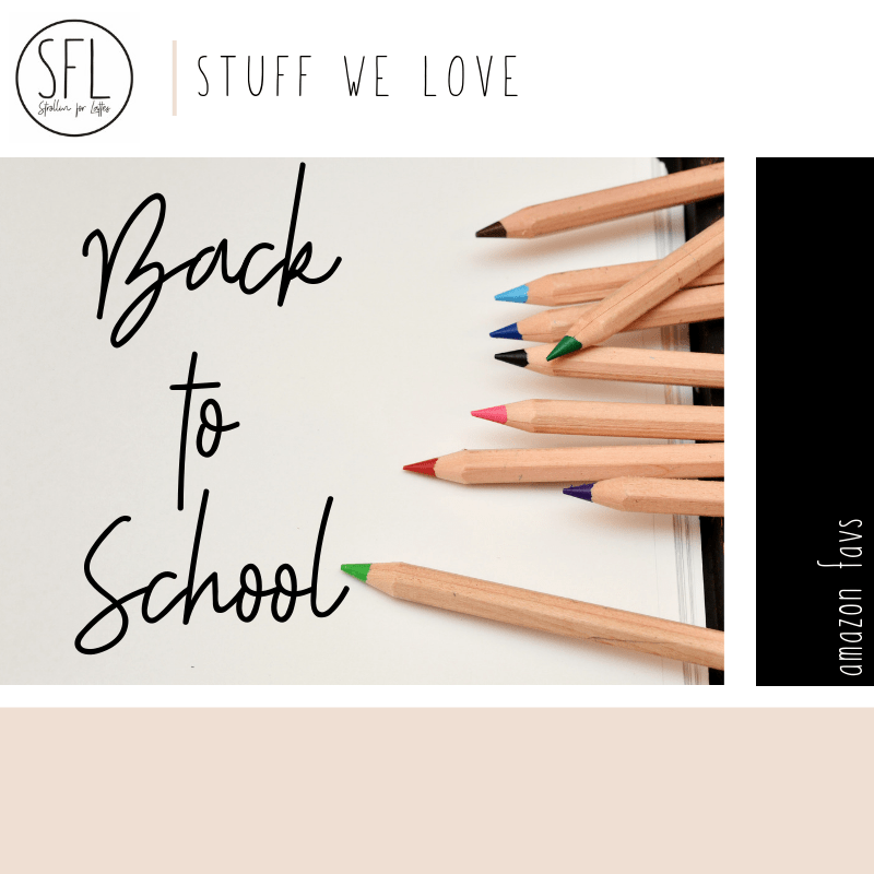 Back to School Lists and Links to Products