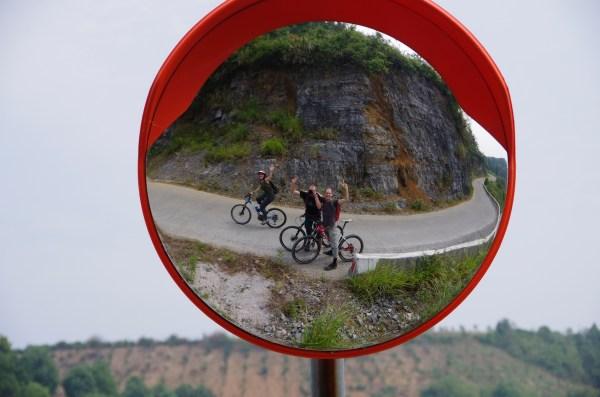 Yangshuo Spiegel Fahrrad