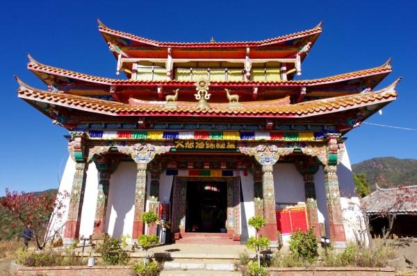 Kloster und Stupas 2