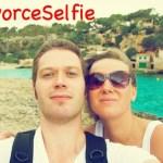 #DivorceSelfie Goes Viral to Promote Amicable Divorces