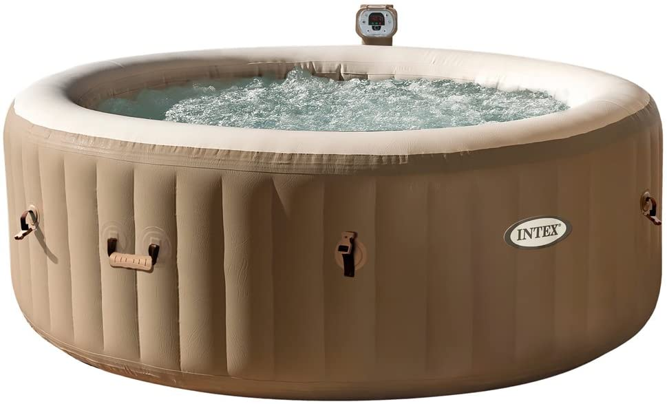 stromsparender Intex Whirlpool Pure Spa Bubble Round