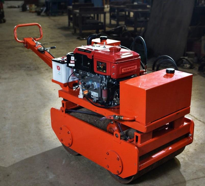 Vibro Roller electric starter mesin Yanmar