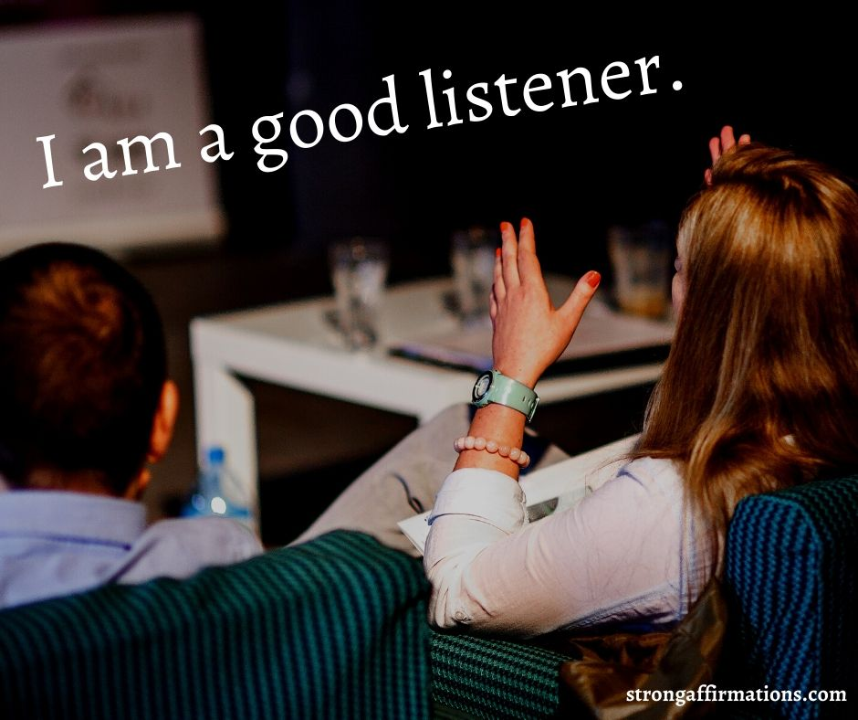 Communication affirmations (4)