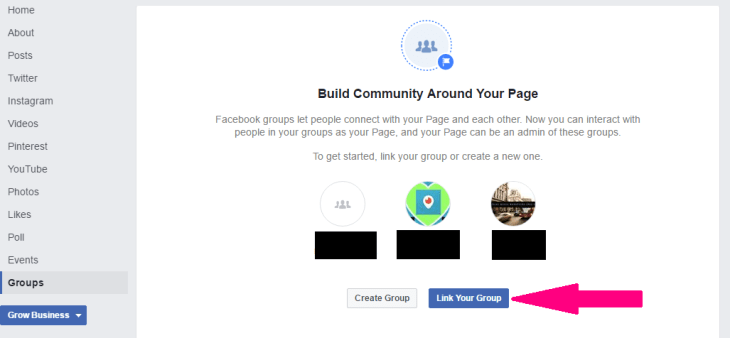 Step 6 How to link your Facebook group to your Facebook page www.strongandworthy.com