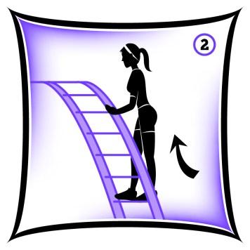 Circuit 1 Lower Body Ladder Climb 2