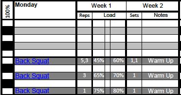 Isometric Strength Block (2 weeks) -