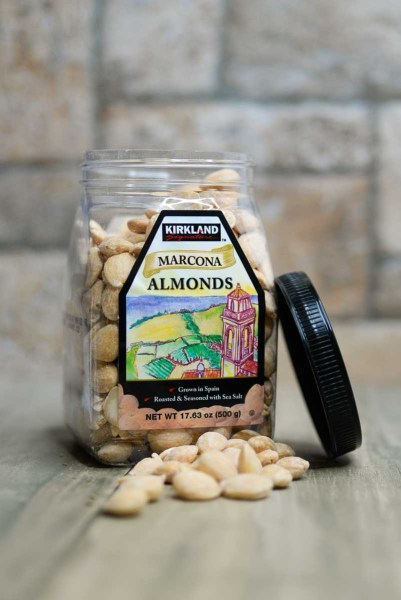 almonds. herbed & roasted