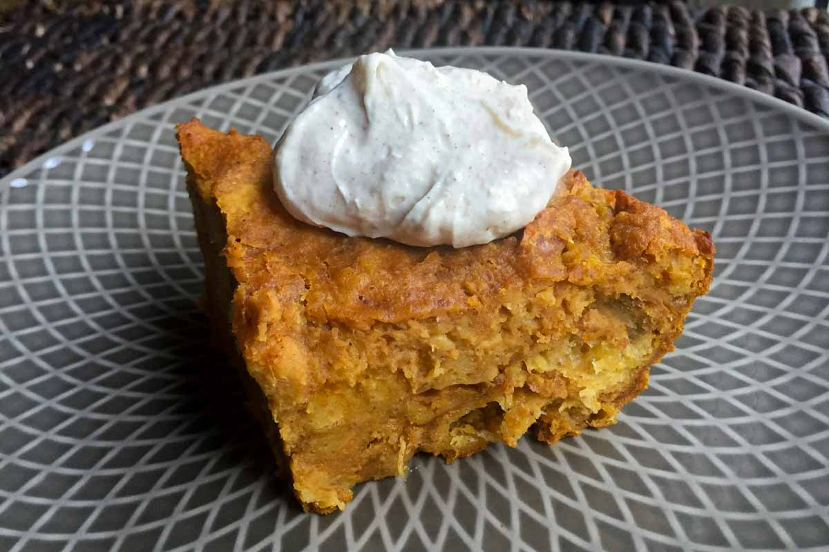 Pumpkin Pie Bread Pudding