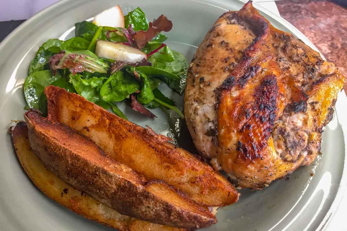 Fresh Herb Garlic Chicken-