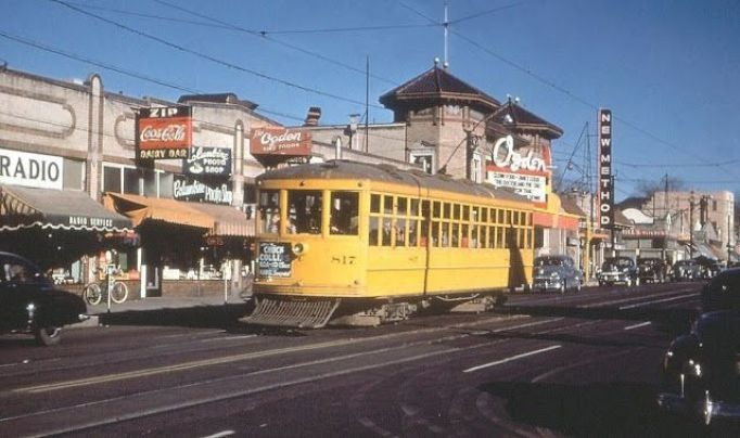Streetcar on Colfax