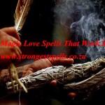 Black magic love spells that work