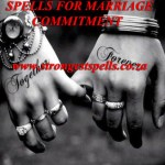 Spells for marriage commitment