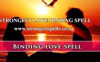 Strongest love binding spell