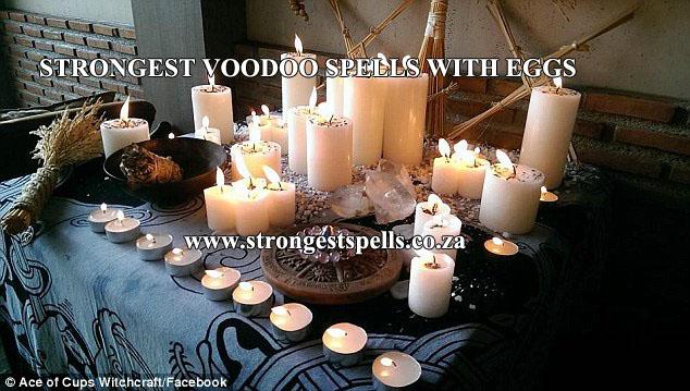 Strongest voodoo spells with eggs