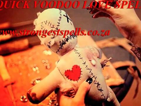 Quick voodoo love spells