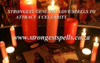 Strongest genuine love spells to attract a celebrity