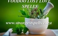 Voodoo lost love spells