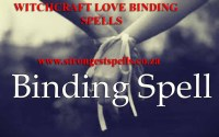 Witchcraft love binding spells