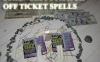 Strongest scratch off ticket spells