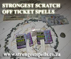 Strongest scratch off ticket spells
