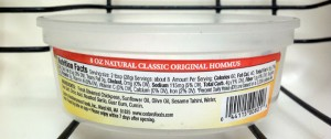 Hummus Label