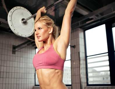 woman-barbell-overhead